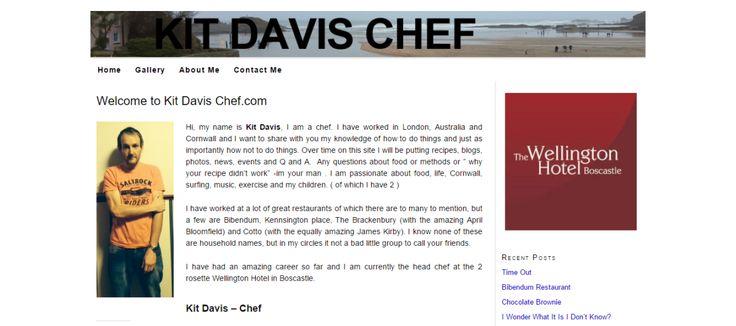 Kit Davis Chef