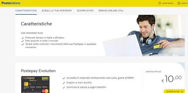 Carta Postepay, la Carta Prepagata Ricaricabile di Poste Italiane - Carta Cento per Cento