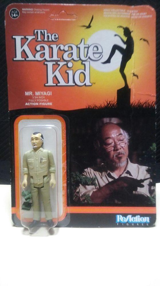 The Karate kid Mr. Miyagi action figure by funko #FunkoReaction