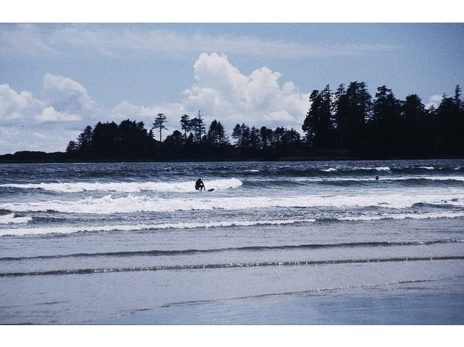 Summer must do... Surfing in Pacific Rim National Park, Vancouver Island BC Canada.