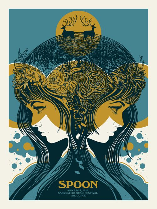 New Concert Posters by The Bungaloo