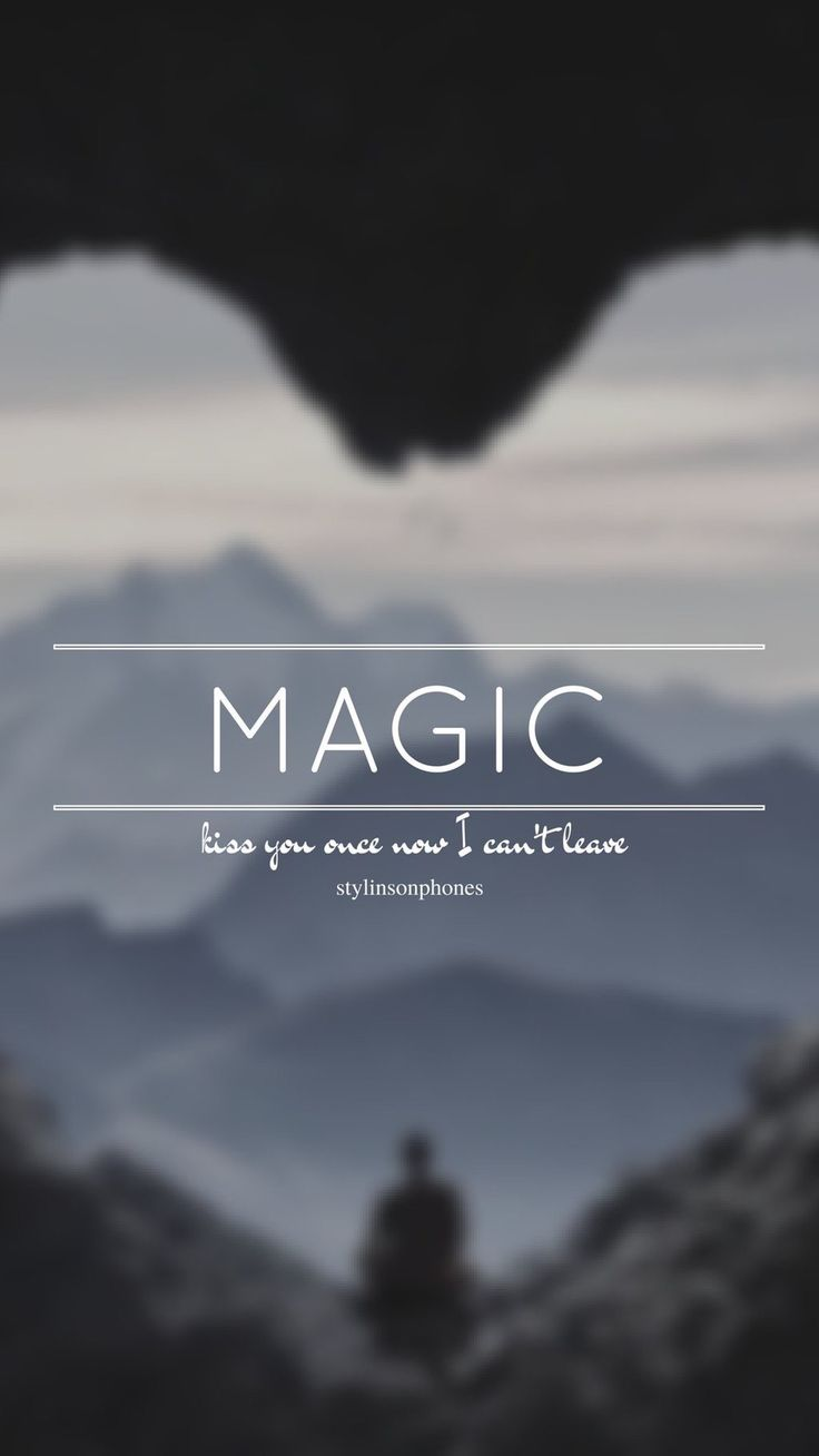 Magic // One Direction // ctto: @stylinsonphones (on Twitter)