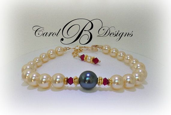 Mother of the Bride Bracelet Mother of the Groom by CarolBDesigns