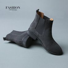 2016 Winter Chelsea Genuine Leather Women Boots Matte Platform Flat Women's Boot Shoes Black Grey Brown Ankle Boot Size 40 ZK2.5     Tag a friend who would love this!     FREE Shipping Worldwide     #Style #Fashion #Clothing    Get it here ---> http://www.alifashionmarket.com/products/2016-winter-chelsea-genuine-leather-women-boots-matte-platform-flat-womens-boot-shoes-black-grey-brown-ankle-boot-size-40-zk2-5/