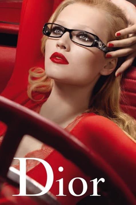 Gafas para cristales graduados de Christian Dior. Sofisticación, elegancia y mito.