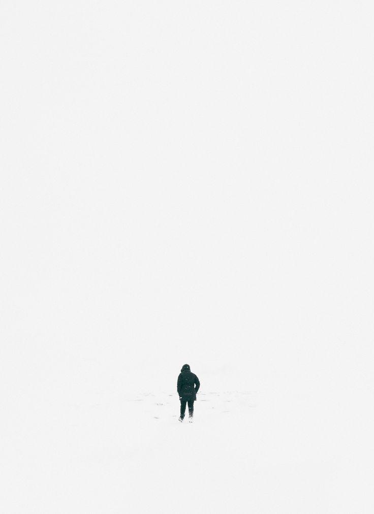 Whiteout /// Iceland © Adam Biernat