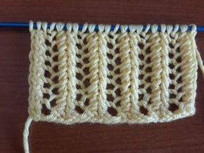 Como tricotar SPIRAL Knit - 2 agulhas (91) - YouTube