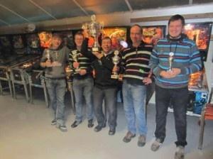 De 2012 editie van het NFV Kampioenschap werd gewonnen door Albert Nomden. Hij won de finale tegen Glenn Pellis. In de 'best-of-three' won Albert achtereenvolgens op de Junk Yard en Scared Stiff.
