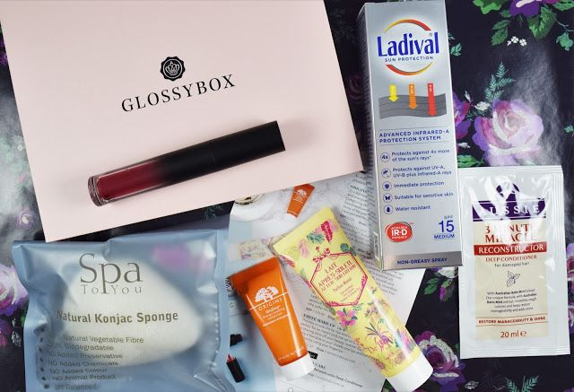 A Life With Frills: GLOSSYBOX JUNE BOX
