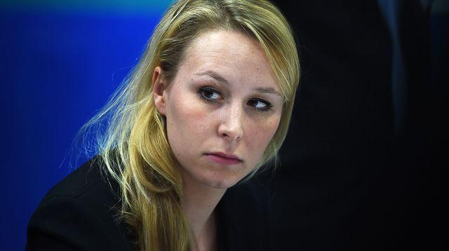 Malmenée à la sortie d'un meeting, Marion Le Pen interpelle Bernard Cazeneuve