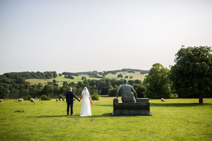 Weddings at Yorkshire Sculpture Park. Photo © Lee Allen.
