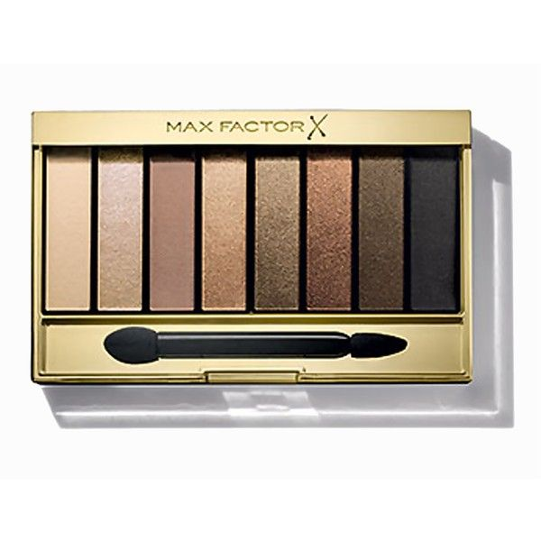 Max Factor Masterpiece Nude Palette ($25) ❤ liked on Polyvore featuring beauty products, makeup, eye makeup, eyeshadow, beauty, golden nudes, hygiene, womens-fashion, max factor eyeshadow and palette eyeshadow