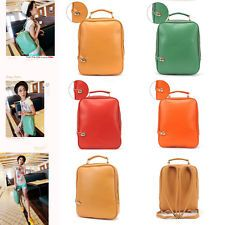 Retro Fashion College Stylish 5 Color Women Ladies Leather Backpacks School Bags