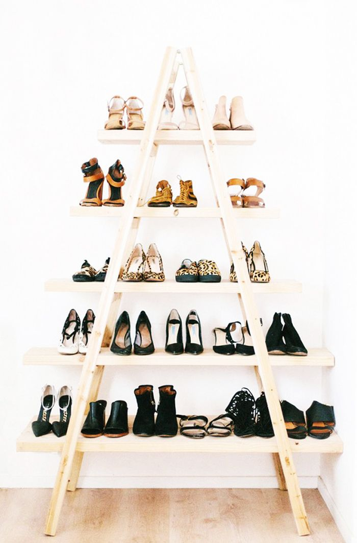 Renting? 12 Smart Ways to Maximize Your Small Closet Space via @WhoWhatWear