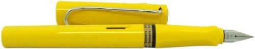 LAMY Safari Fountain Pen Yellow Medium Nib (L18M)