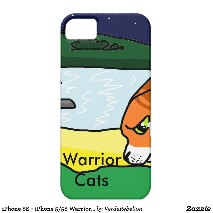 iPhone SE + iPhone 5/5S Warrior Cats iPhone 5 Cover