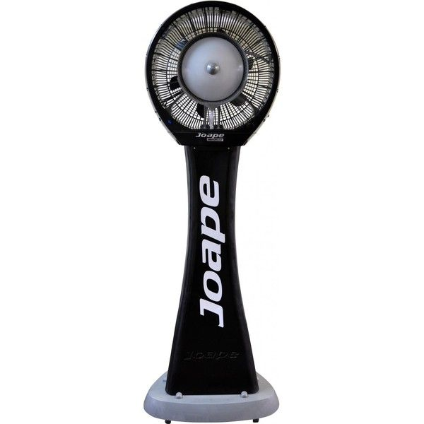 Joape Copacabana 660 Pedestal Outdoor Misting Fan   Black ($2,595) ❤ Liked  On Polyvore