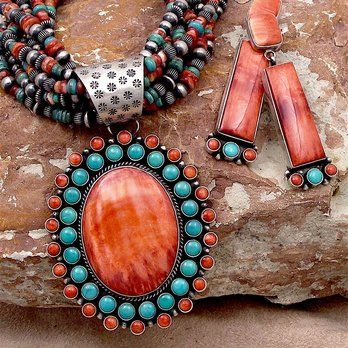 Turquoise & Shell Sterling SIlver jewelry | Yelp