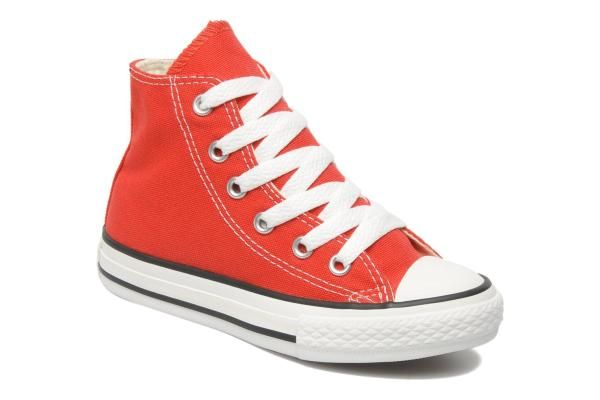 Converse Chuck Taylor All Star Red Trainers UK 3 | Red