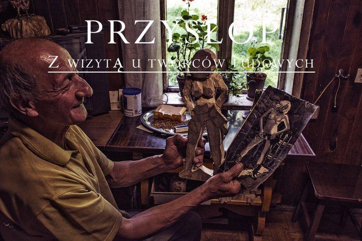 Z wizytą u artystów ludowych, Zawoja Przysłop, Beskid Żywiecki (Visiting folk artists)
