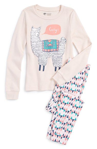 Tucker + Tate Two-Piece Fitted Pajamas (Toddler Girls, Little Girls & Big Girls) available at #Nordstrom