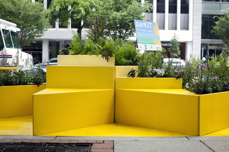 The District of Columbia opened its first semipermanent tiny park. The parklet's creators hope the new space will encourage pedestrians to hang out, while others worry about losing parking spaces.