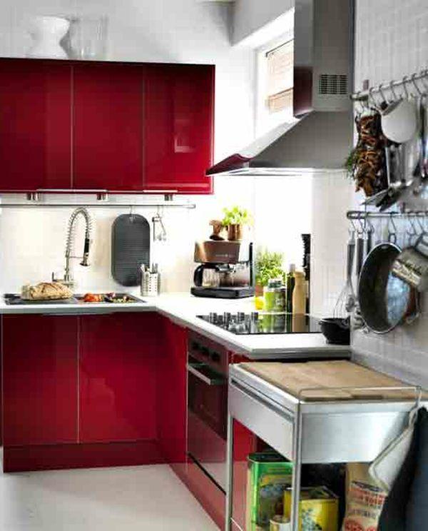 11 best images about Cuisine on Pinterest Plan de travail, Cuisine - plan de travail cuisine rouge