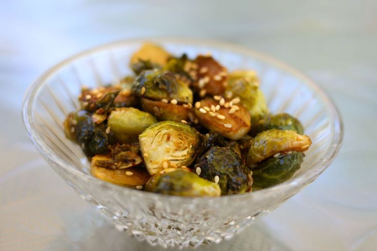 Asian Roasted Brussel Sprouts (Paleo/Primal/Gluten Free/Dairy Free/Soy Free) | S…   – Food: Veggie Sides