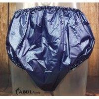 Traditional Plastic Pants, Pearl Blue