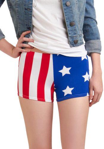 Born to Fun Shorts, #ModCloth