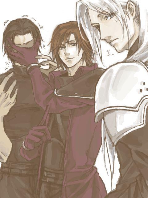 Angeal, Genesis, & Sephiroth