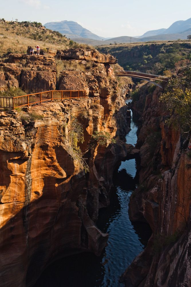 Kruger National Park - South Africa- no! Bourkes luck potholes this is for sure.