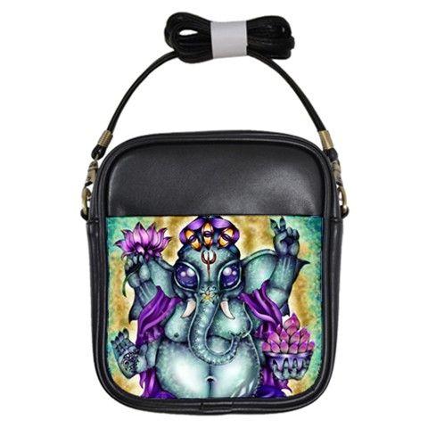 :Ganesha: Girls Sling Bag via ArtsNow.com