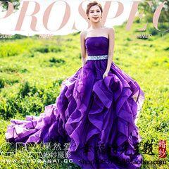 2800руб  Свадебное фиолетовое платье, платье пышное для фотосессии. A wedding purple dress, a gorgeous dress for a photo shoot. Sevtao.ru