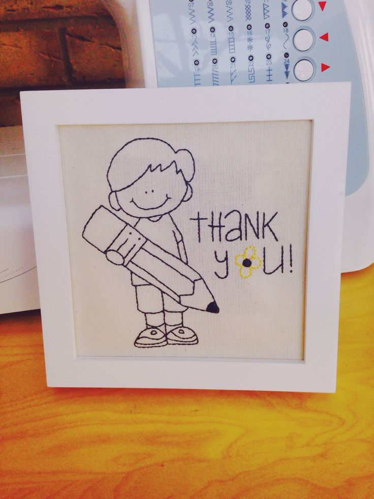 A personal favourite from my Etsy shop https://www.etsy.com/uk/listing/293525971/thank-you-teacher-frame-end-of-year
