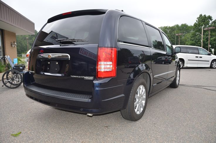 Rear Right Side View of the 2010 Chrysler Town and Country Touring PL For Sale