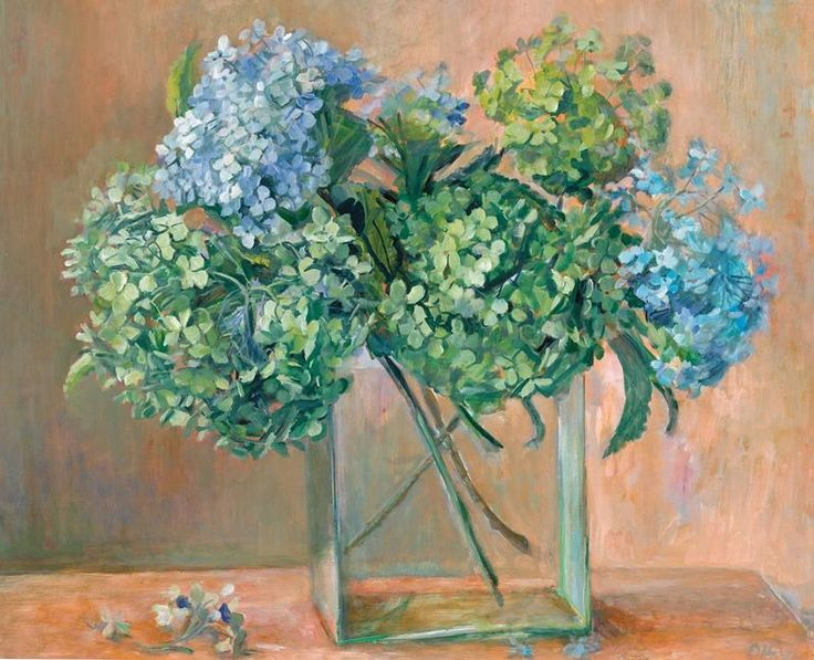 Hydrangeas (1970), Margret OLLEY