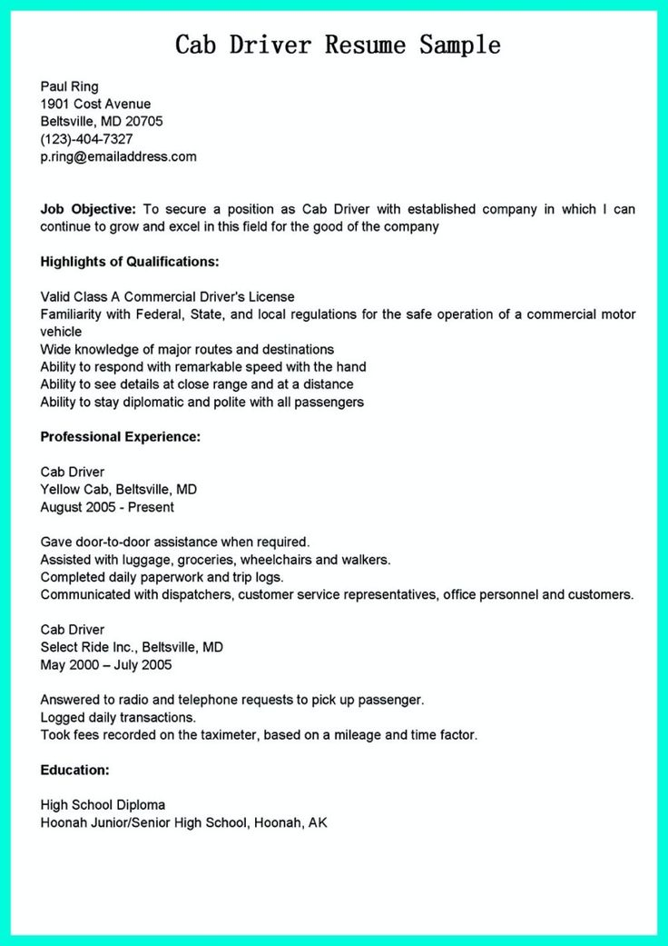 awesome Simple but Serious Mistake in Making CDL Driver Resume, Check more at http://snefci.org/simple-but-serious-mistake-in-making-cdl-driver-resume