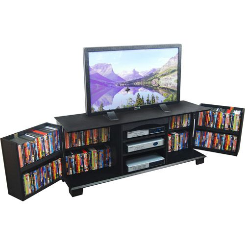 """Find the TV Stand with Media Storage, for TVs up to 65"""" at Walmart.com. Save money. Live better."""