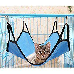UEETEK Pet Cage Hammock Bed Small Animals Hammock Sleep Bed for Puppy Cat Kitten