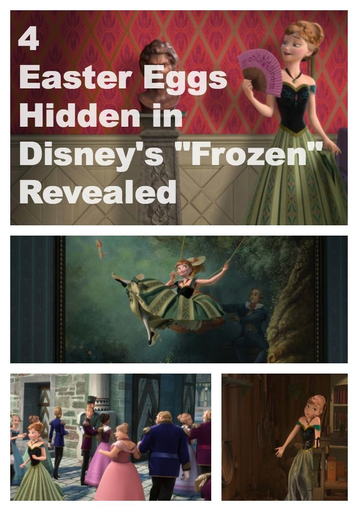 Hidden Easter Eggs in Disney's Frozen Revealed - Babble