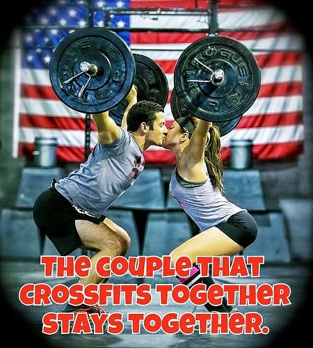 The Couple That CrossFits Together Stays Together #Crossfit