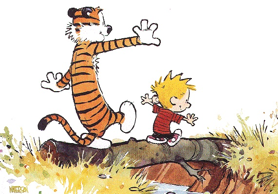Calvin and Hobbes, I miss you so much.