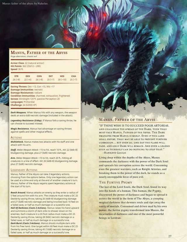 Here is even more D&D 5e homebrew  Have fun! | Monsters in