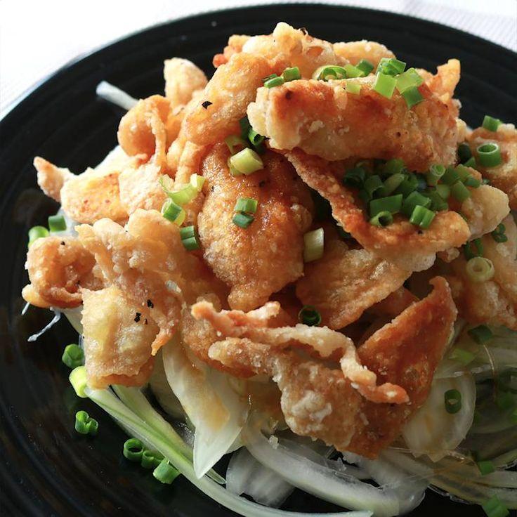 お酒がすすむ カリカリ鶏皮ポン酢 | 料理動画(レシピ動画)のkurashiru [クラシル]