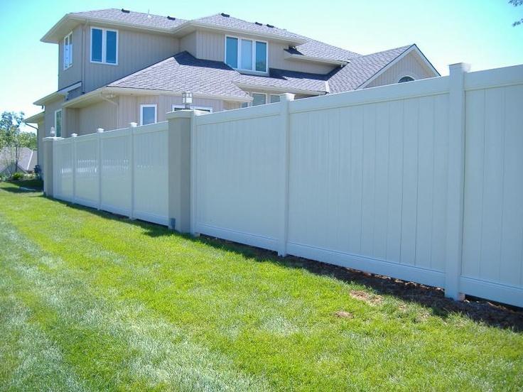 white privacy fence ideas. vinyl fence job white privacy ideas