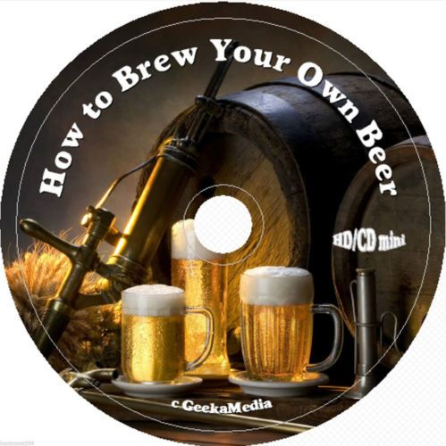 15 best geekamedia amazon ebooks on cd dvd how to guides handbooks how to brew your own beer cd books recipes cookbook making make vintage home fandeluxe Gallery