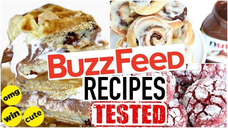 Buzzfeed Food Recipes Tested! Dessert Taste Test!