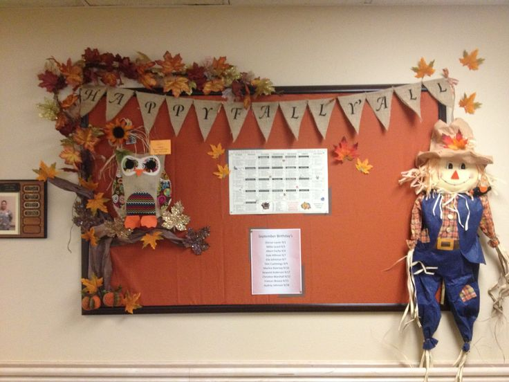 Thanksgiving Classroom Wall Decorations ~ Best images about nursing home bulletin boards on