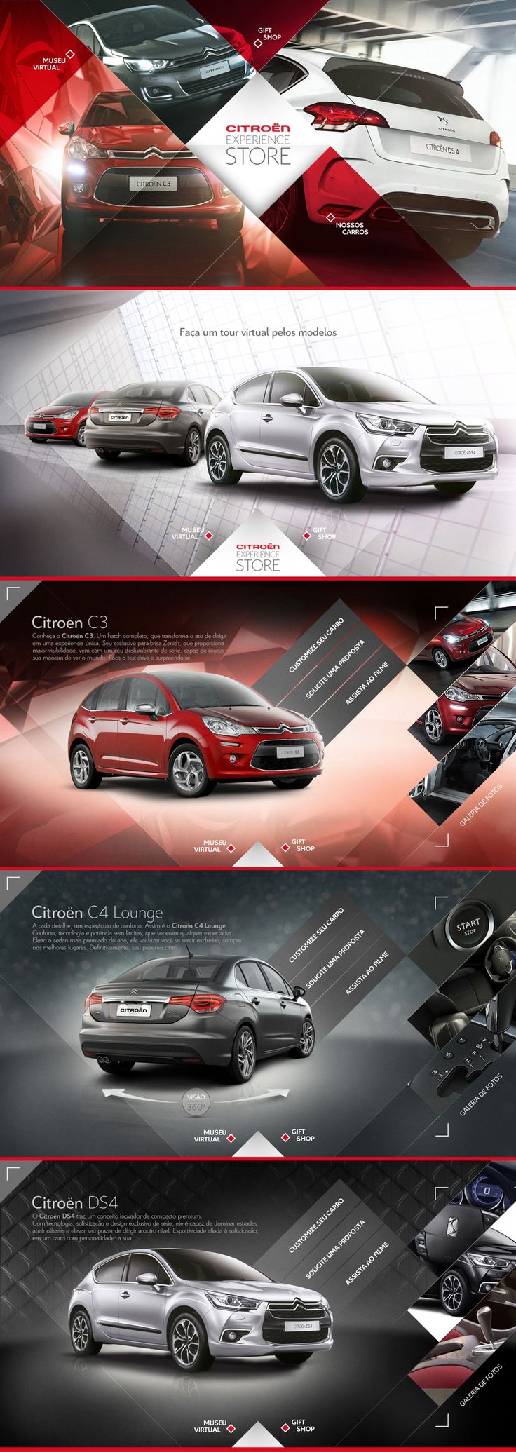 Citroën Experience Store for Xbox